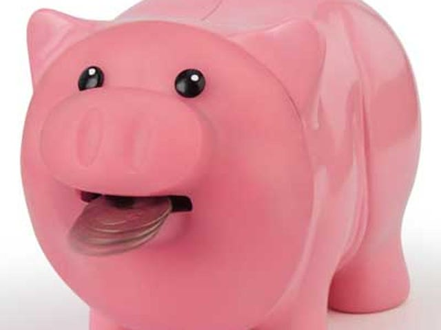 Motion-Sensing, Money-Eating Piggy Bank: A Haiku