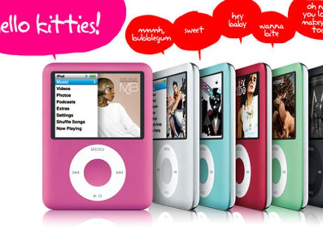 Apple Pushes Pink iPod nano in Time for Your Valentine