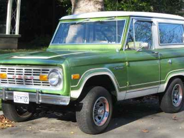 Early 1970s Ford Bronco