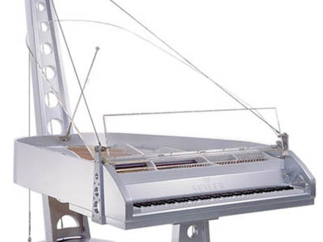 Seiler Piano Supports Hands, Keys and Cars
