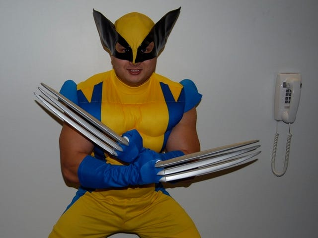 How Would Wolverine Get Naked?