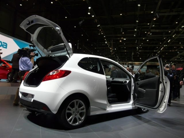 2009 Mazda2 Three Door, Along With a Variety of Colors