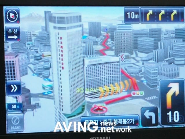 Thinkware iNAVI GPS Navigation Goes 3D, Really 3D
