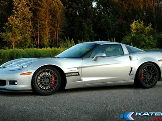 Katech Corvette Z06 Clubsport Priced Like ZR1, Missing 126 HP