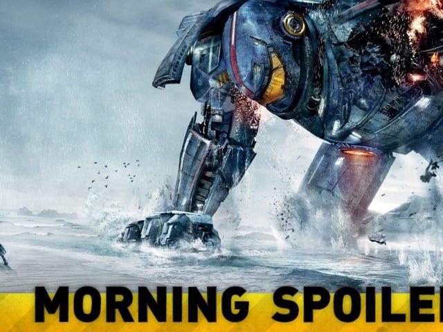 Could the next Pacific Rim film be a prequel? Plus New RoboCop Pics!