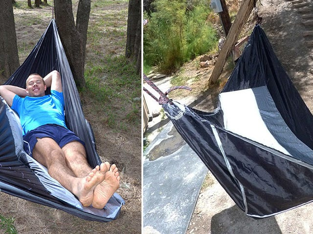 Can This Off-Center Hammock Really Be As Comfy As a Bed?