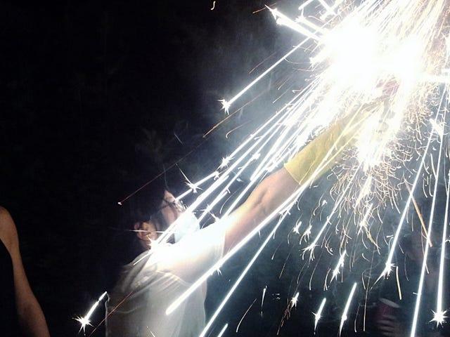 Shooting Challenge: Fireworks