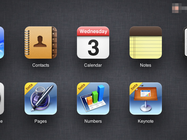 iWork for iCloud beta now available.