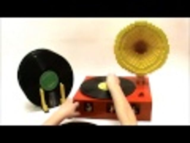 This Lego Record Player Is Made From Half Bricks and Half Pure Awesome