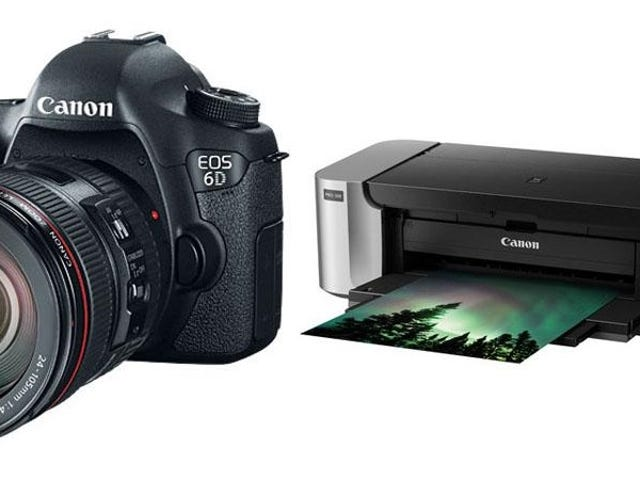 Pick Up a Canon EOS 6D DSLR Camera and Pixma Pro-100 Printer for $1999