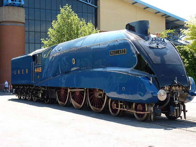 How heavy is a 125+ MPH Steam Locomotive?