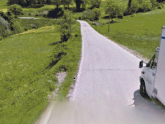 Największe, najdziwniejsze trafienia w Google Street View