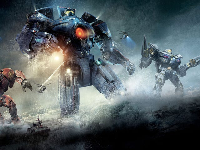 Pacific Rim. A 132 minute orgasm of absolute epicness.