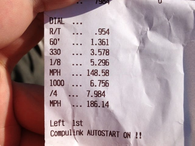 AMS Performance GT-R sets new world record with a 7.98 quarter mile