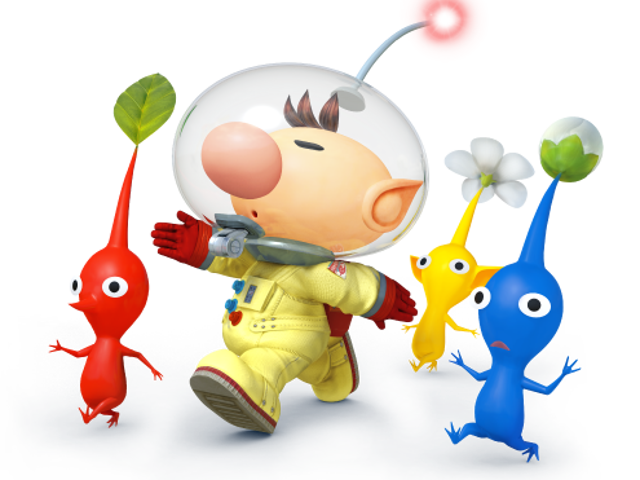 Olimar Rejoins the Fray