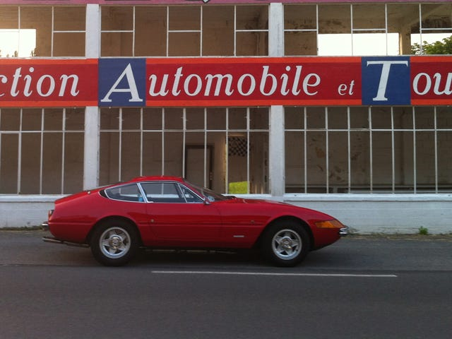 To Reims and back in a Ferrari Daytona