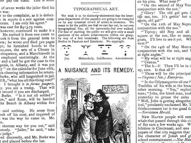 The First Emoticons Were Used in 1881