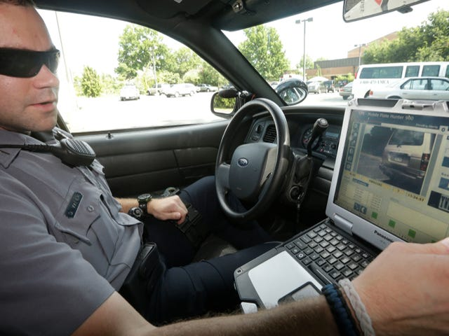 Police Are Engaged In 'Mass Tracking' With License Plate Readers