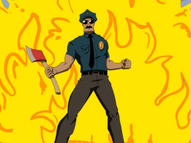 This Week's TV: Axe Cop comes to network TV! And fights space zombies!