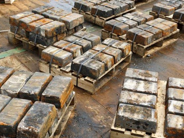 An astounding $36 million in silver has been hauled from a WWII wreck