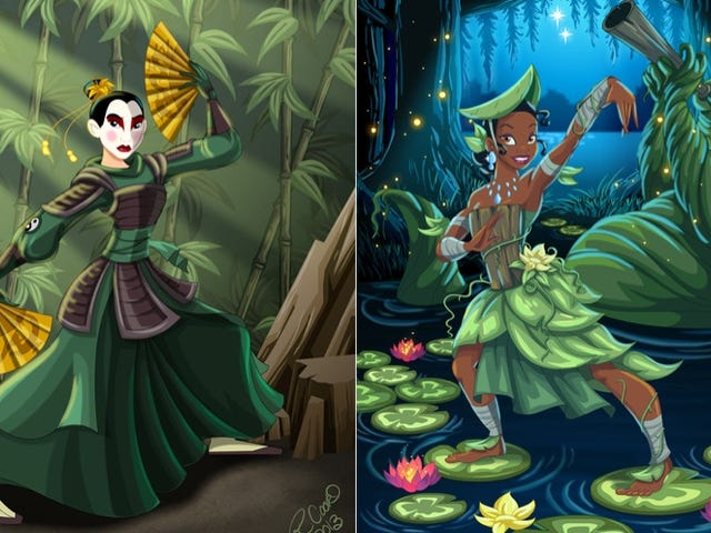 Disney Princesses Gloriously Reimagined as Avatar Characters