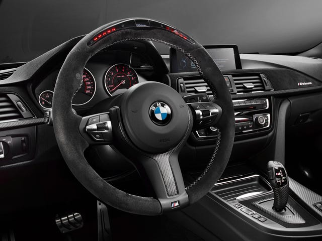 Motor racing expertise included: BMW M Performance Parts for the BMW 4 Series.