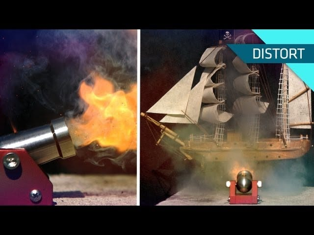 The Tiny Cannon Returns to Explode Its Tiny Pirate Foes