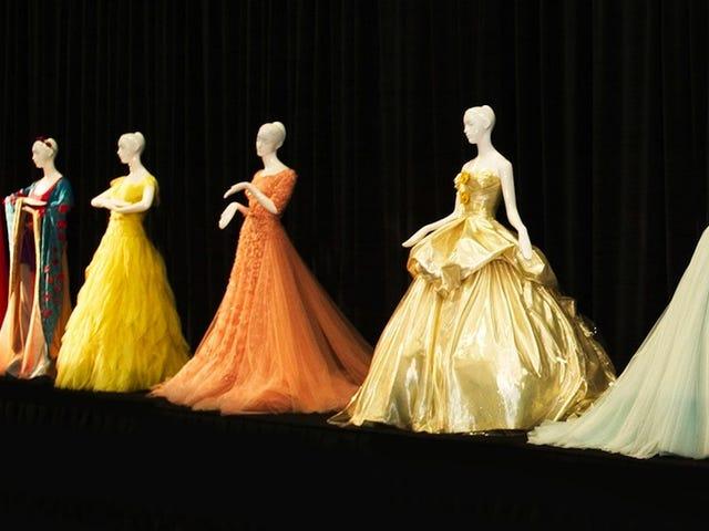 Designer Disney Princess Dresses are Now For Sale