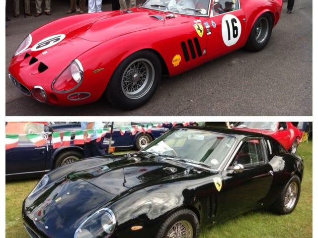A real Ferrari GTO or a replica