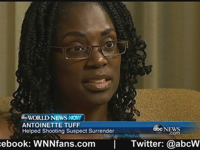 Woman Stops Elementary School Gunman Using Sheer Awesomeness