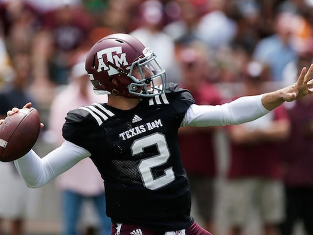 Texas A&M Won't Talk About Johnny Manziel This Week