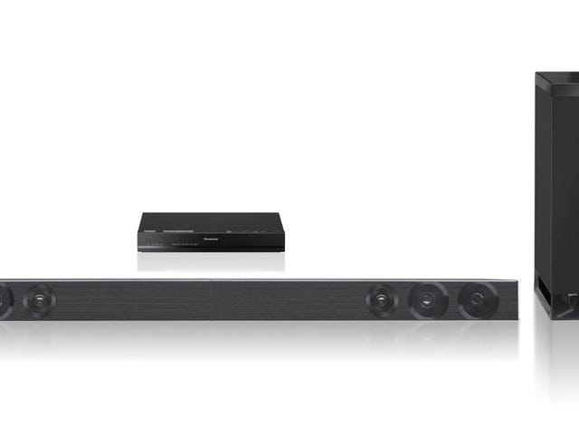 At $198, this Panasonic 2.1 Channel Soundbar System has Not Been Lower