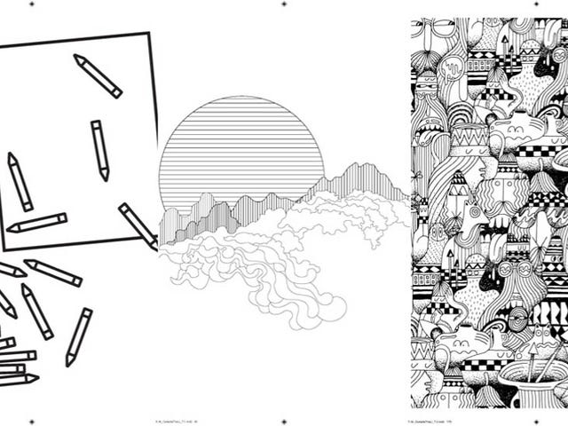 An Artist-Designed Coloring Book For Budding Creative Types