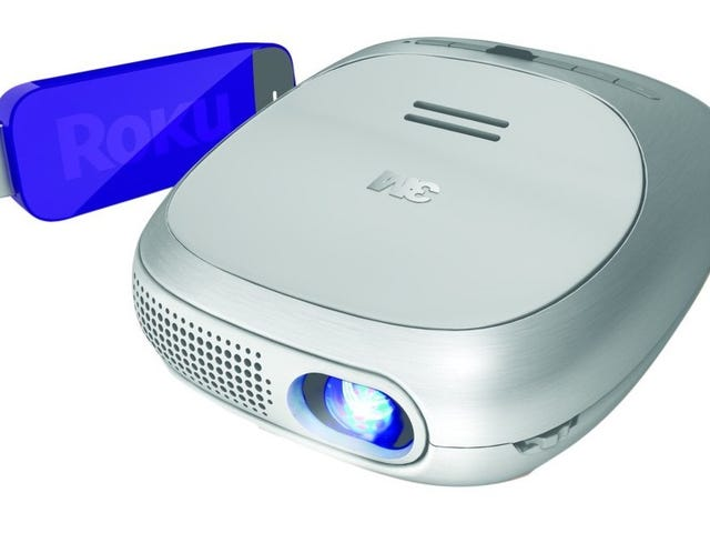 The 3M Portable Wireless Projector with Roku Streaming Stick is $170