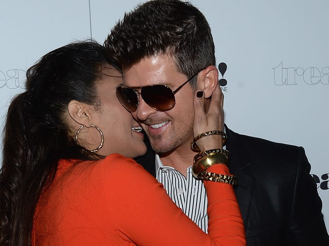 Robin Thicke Says He'd Be Dead without Paula Patton's Love