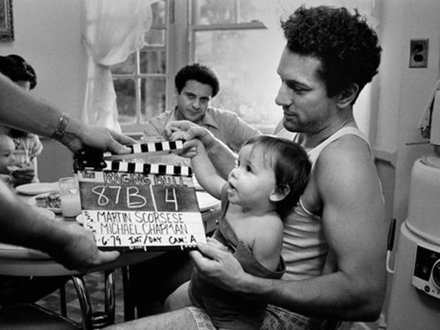 Photographs From the Set of Raging Bull
