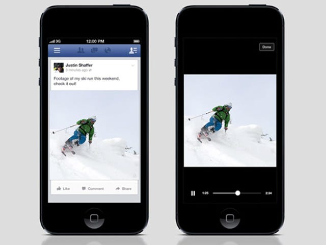 Facebook Is Testing an Auto-Play Video Function to Save Your Clicks
