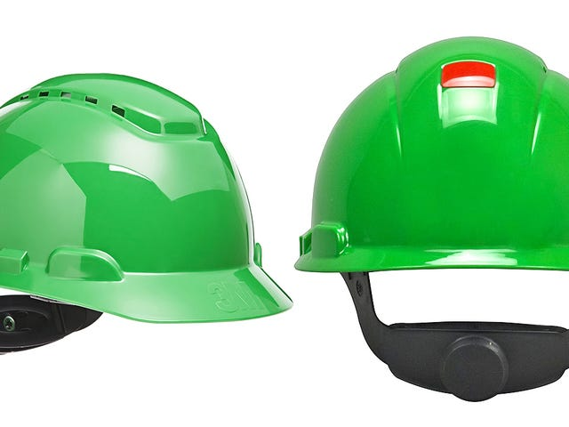 Color-Changing Hard Hats Highlight Brittle Sun Damage