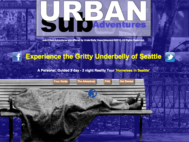 'Gritty' Homelessness Tour Guarantees Unforgettable Adventure