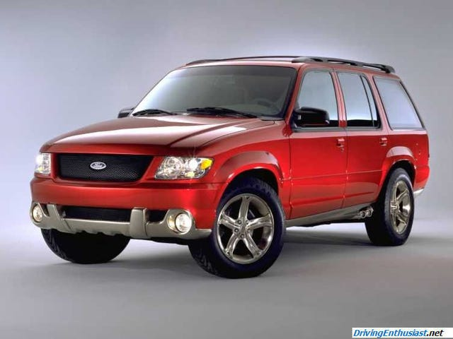 A Concept That Never Saw The Light of Day: 1998 Ford SVT Tremor