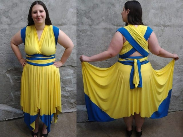 And now I've got a Wolverine dress!