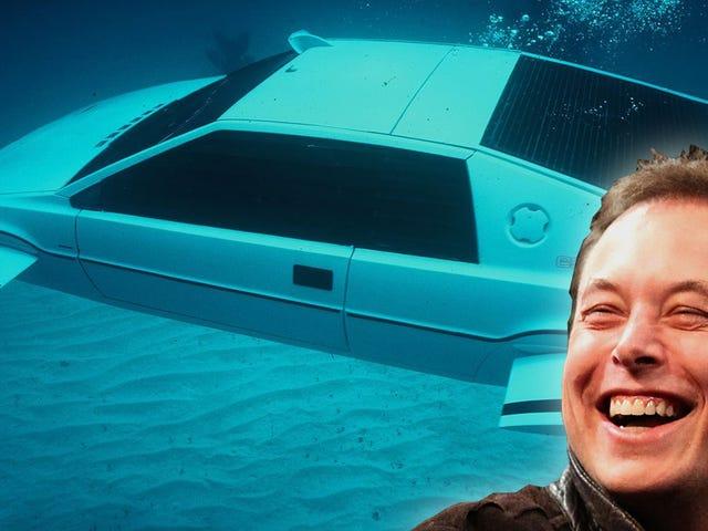 Hvordan en forladt bil, som Elon Musk købte for $ 1 million, tjente som inspiration til Tesla Cybertruck