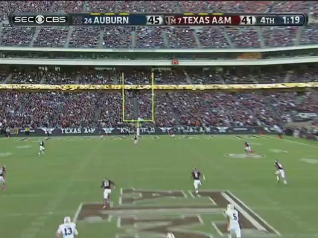 Auburn Upsets Texas A&M In College Station