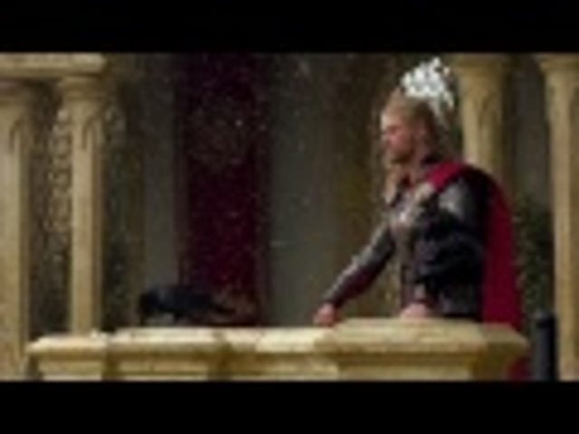 Go behind the scenes of Thor 2 with 15 minutes of set footage