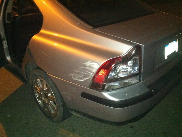 If you can't drive down a street without hitting a parked car please cut up your license.