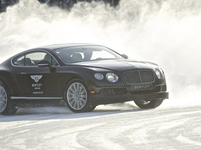 Bentley's Arctic Driving School Is The Ultimate Rich Dude Vacation