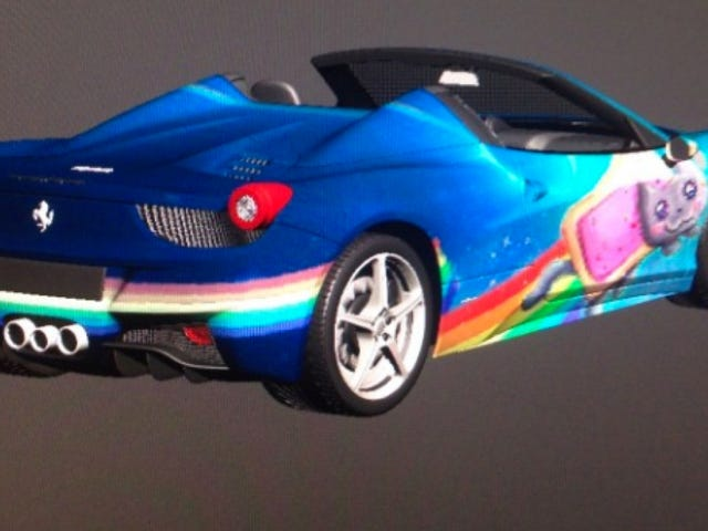 Deadmau5 May Give His Ferrari 458 This Wonderful Nyan Cat Wrap