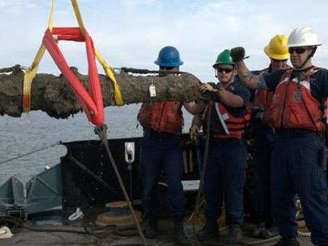 Five Ancient Cannons Were Just Rescued From Blackbeard's Sunken Ship