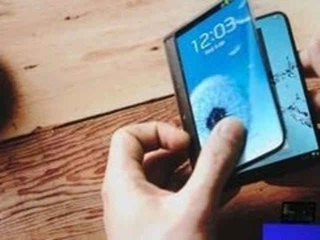 Samsung: 2014 Phones to Have Twice the Pixels, Folding Displays by 2015
