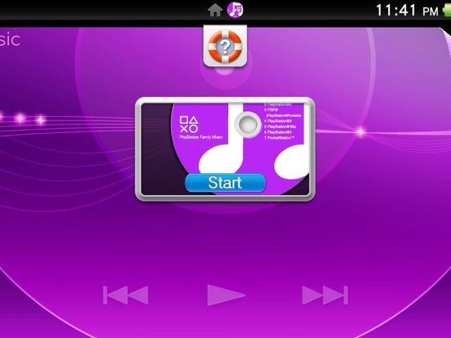 PocketStation Reference on PSVita Music App